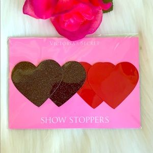 NWT- VICTORIA SECRET SPARKLY HEART SHOW STOPPERS